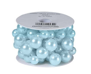 OASIS™ Mega Beaded Wire, Ice Blue, 6/case