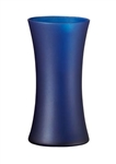 Gathering Vase, Nordic Blue Matte, 12/case