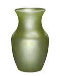 Rose Vase, Apple Green Ice, 12/case