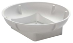 OASIS™ Single Bowl, Snow, 48/case