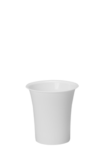 "8-1/2"" Free Standing Cooler Bucket, White (Case of 6)"