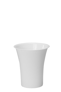 "10"" Free Standing Cooler Bucket, White (Case of 6)"