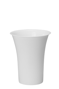 "13"" Free Standing Cooler Bucket, White (Case of 6)"