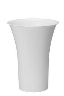 "16"" Free Standing Cooler Bucket, White (Case of 6)"