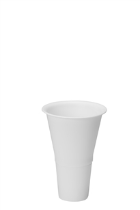 "10"" Cooler Bucket Cone, White (Case of 12)"