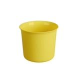 "4-1/2"" OASIS Cache Pot, Golden Yellow (12/Case)"