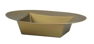 ESSENTIALS™ Oval Bowl, Gold, 24/case