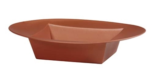 ESSENTIALS™ Oval Bowl, Copper, 12 pack