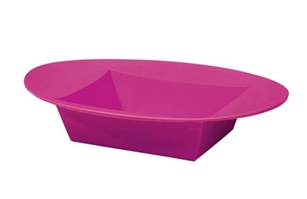 ESSENTIALS™ Oval Bowl, Strong Pink, 24/case