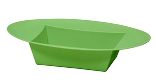 ESSENTIALS™ Oval Bowl, Apple Green, 12 pack