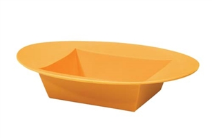 ESSENTIALS™ Oval Bowl, Tangerine, 12 pack