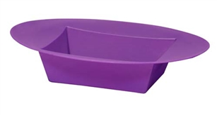 ESSENTIALS™ Oval Bowl, Purple, 12 pack