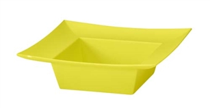 ESSENTIALS™ Square Bowl, Yellow, 12 pack