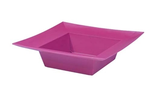 ESSENTIALS™ Square Bowl, Strong Pink, 12 pack