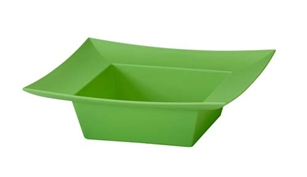 ESSENTIALS™ Square Bowl, Apple Green, 12 pack