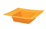 ESSENTIALS™ Square Bowl, Tangerine, 24/case