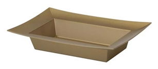 ESSENTIALS™ Rectangle Bowl, Gold, 24/case