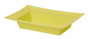 ESSENTIALS™ Rectangle Bowl, Yellow, 12 pack