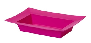 ESSENTIALS™ Rectangle Bowl, Strong Pink, 12 pack