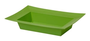 ESSENTIALS™ Rectangle Bowl, Apple Green, 12 pack
