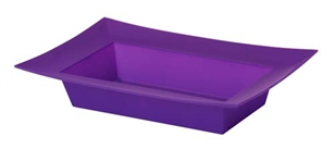 ESSENTIALS™ Rectangle Bowl, Purple, 24/case