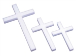 "12"" STYROFOAM® Cross, 24/case"