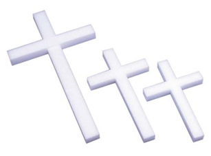 "18"" STYROFOAM® Cross, 12/case"