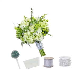 Beaded Wire Bouquet Kit