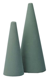 "12"" OASIS® Floral Foam Cone, 1 pack"
