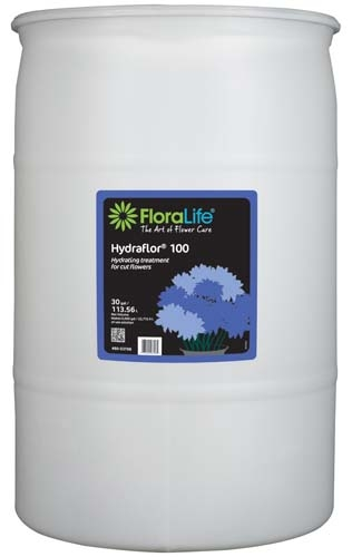 floralife hydraflor 100 hydrating treatment 30 gallon 30 gallon drum