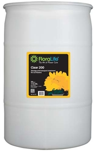 Floralife® Clear 200 Storage & transport treatment, 30 gallon, 30 gallon drum
