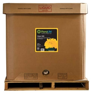 Floralife® Clear 200 Storage & transport treatment, 220 gallon, 220 gallon tote