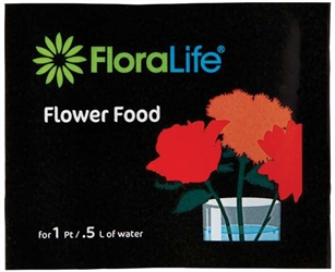 Floralife® Flower Food 300, 1pt/.5L Packet, 1,000 case