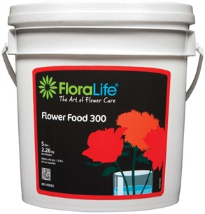 Floralife® Flower Food 300 Powder, 5 lb., 6 case