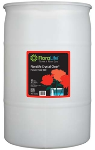 Floralife CRYSTAL CLEAR® Flower Food 300 Liquid, 30 gallon, 30 gallon drum
