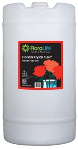 Floralife CRYSTAL CLEAR® Flower Food 300 Liquid, 15 gallon, 15 gallon drum