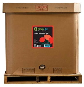 Floralife CRYSTAL CLEAR® Flower Food 300 Liquid, 220 gallon, 220 gallon tote