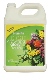 Floralife® Clear Crowning Glory® Solution, 1 gallon, 6/case