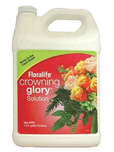 Floralife® Crowning Glory® Solution, 1 gallon, 1 gallon jug