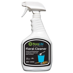 Floralife® Floral Cleaner, 32oz spray bottle (CASE OF 12)