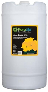 Floralife® Clear Rose 200 Storage & transport treatment, 15 gallon, 15 gallon drum