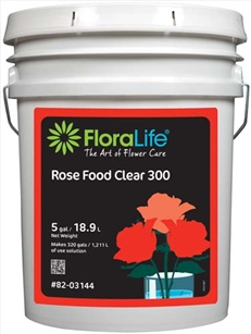 Floralife® Rose Food Clear 300 Liquid, 5 gallon, 5 gallon pail
