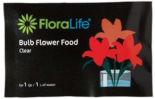 Floralife® Bulb Food Clear 300 Powder, 1Qt./1L packet, 1,000 case