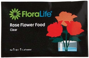 Floralife® Rose Food Clear 300 Powder, 1Qt./1L packet, 1,000 case