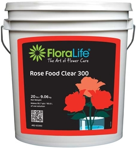 Floralife® Rose Food Clear 300 Powder, 20 lb., 20 lb. pail
