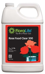 Floralife® Rose Food Clear 300 Liquid, 1 gallon, 1 gallon jug
