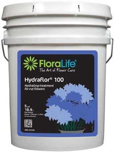 Floralife® HYDRAFLOR®100 Hydrating treatment, 5 gallon, 5 gallon pail