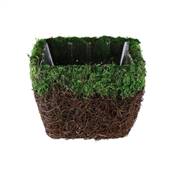 round cute small decorative bulk willow baskets with rope.htm moss  moss