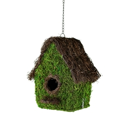"10"" EMILY BIRDHOUSE, 4/CS"