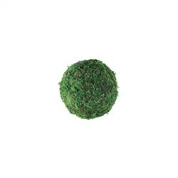 "4"" MOSS SPHERE, 36/CASE"